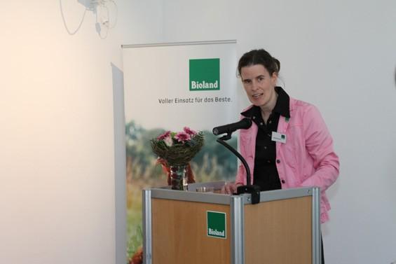 Gita Sandrock begrüßte die Gäste. Bild: Jens Brehl CC BY-NC-SA 4.0