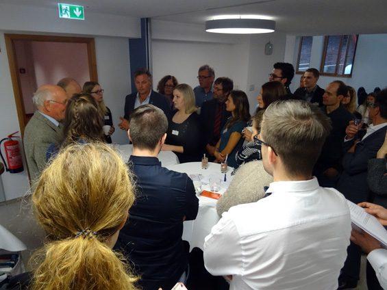 Großer Andrang bei der Vegan-Debatte. Bild: Jens Brehl CC BY-NC-SA 4.0