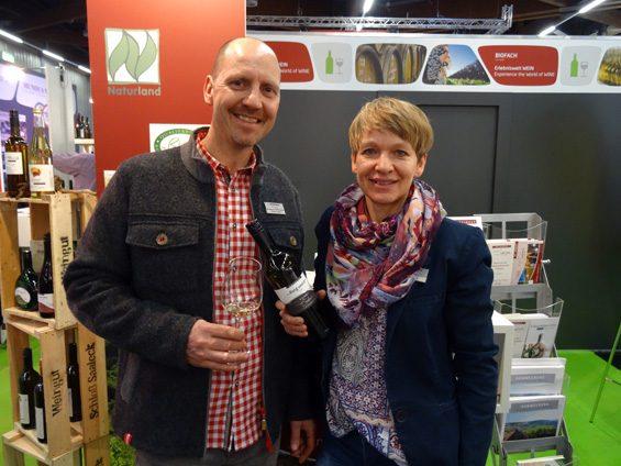 Thomas und Ulrike Lange vom Weingut Schloss Saaleck. Bild: Jens Brehl CC BY-NC-SA 4.0