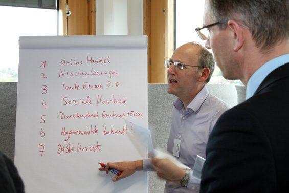 Nach den Vorträgen folgten Workshops. Bild: Jens Brehl CC BY-NC-SA 4.0