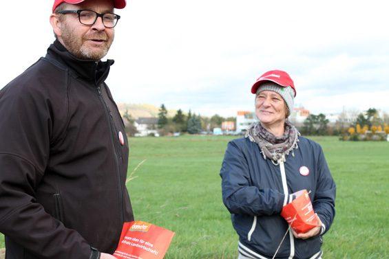 Michael Thauer und Stefanie Krecek hatten sichtlich Freude. Bild: Jens Brehl CC BY-NC-SA 4.0