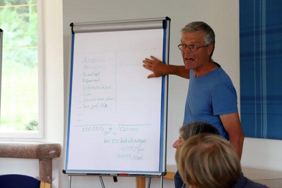 Richtig geplant, trägt sich jedes Projekt selbst – wie Gerrit Jansen erläuterte. Bild: Jens Brehl CC BY-NC-SA 4.0