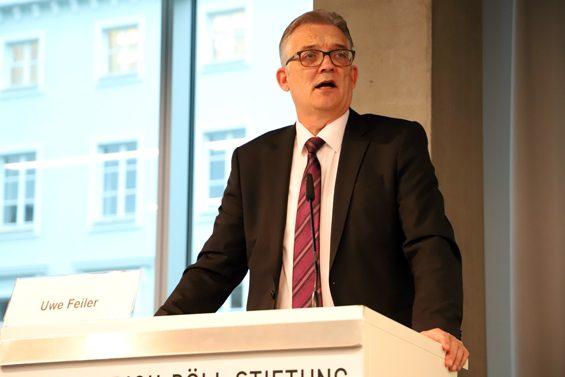 Es wird keine speziellen Förderprogramme für Solawi geben, sagte Staatssekretär Uwe Feiler (BMEL, CDU). – Bild: Jens Brehl CC BY-NC-SA 4.0