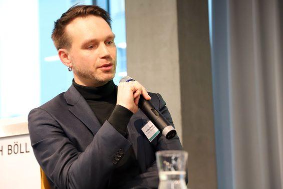 Unzufrieden mit dem Verlauf der Gespräche mit dem BMEL: Veikko Heintz – Bild: Jens Brehl CC BY-NC-SA 4.0