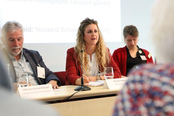 Kristin Höller von Seleggt (Mitte). Bild: Jens Brehl CC BY-NC-SA 4.0
