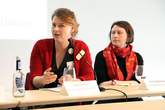 Seleggt sorge für Verwirrung, meinte Inga Günther (links). Bild: Jens Brehl CC BY-NC-SA 4.0