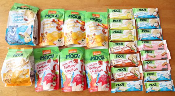 Snacks von Mogli für unterwegs