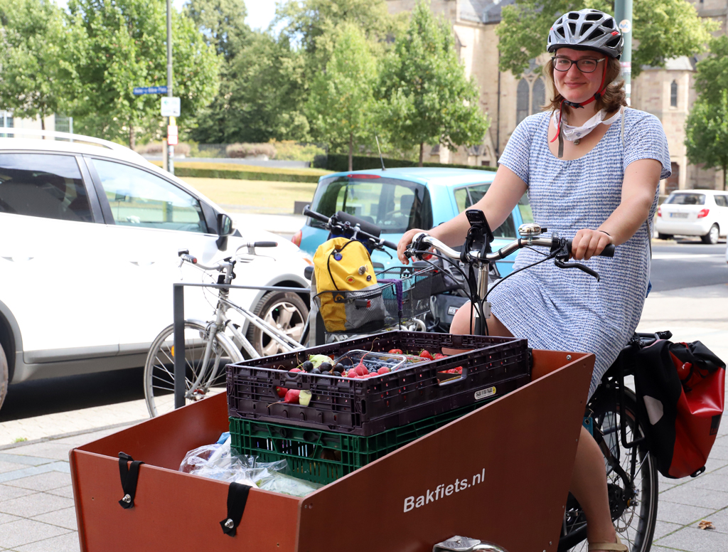 Foodsharing Fulda hat das neue Lastenrad getestet.