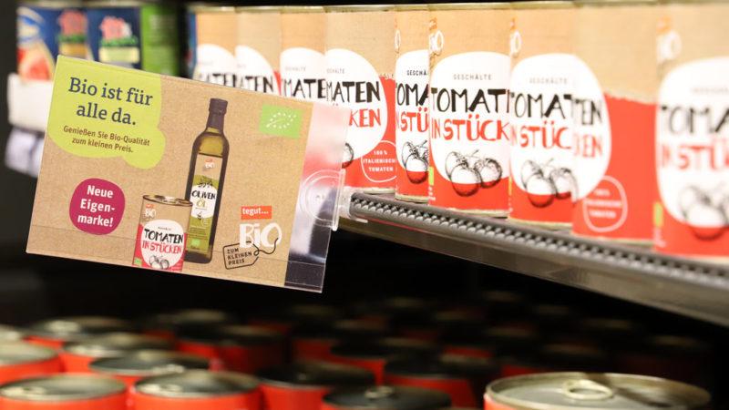 tegut Bio zum kleinen Preis Tomaten in der Dose