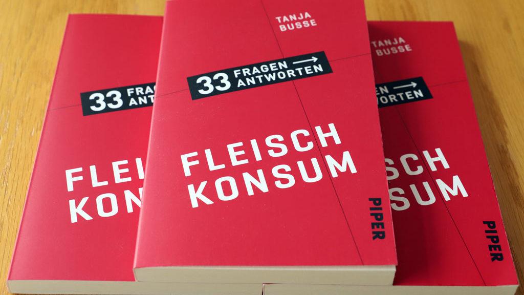 3 Bücher Fleischkonsum von Tanja Busse